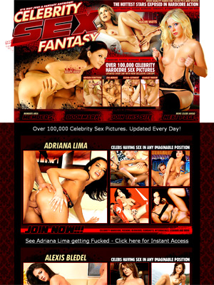Celebrity Sex Fantasy takes the most hardcore pictures and adds the sexiest celebrities faces to them to create a perfect match, and shows the celebrities getting fucked like you've always wanted to see. See celeb fakes like Paris Hilton, Jennifer Lopez, The Olsen Twins, and Angelina Jolie in sexy hardcore action. You've never seen celebrities act as raunchy as you will in these videos, and even though it's not really them sucking, fucking and getting a face full of sticky white cum! 